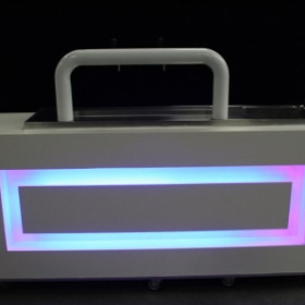 luxe white bar incl led verlichting